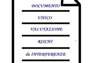 duvri unico documento di valutazione dei rischi da interferenze